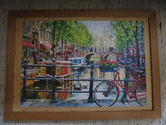 Castorland 1000 Teile : Ansicht von Amsterdam