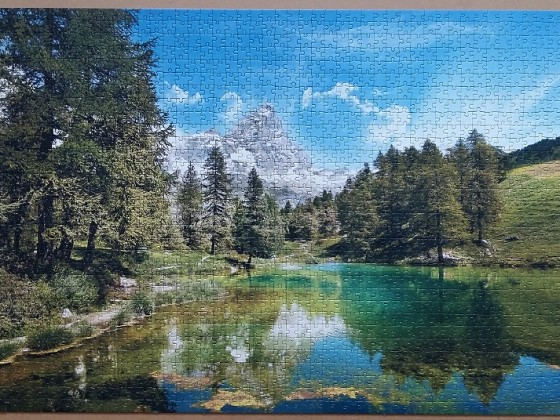 Blue Lake 1500 Pieces ( Clementoni )