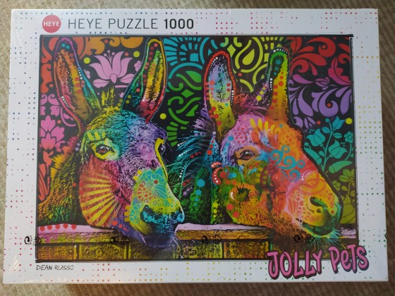 Jolly Pets: Donkey Love, 1000 Teile (Heye)