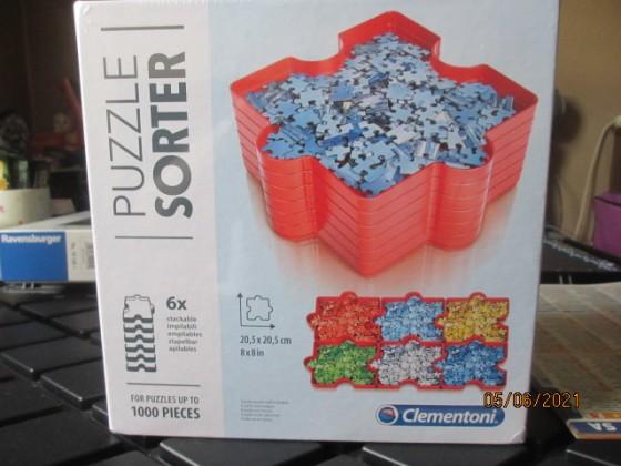 Clementoni Puzzle Sortierschalen für 1000 Teile