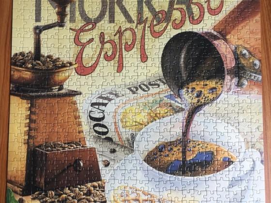 Espresso, Ravensburger, 500 Teile - Sept. 2020