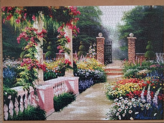 Garden of Eden by Egidio Antonaccio 2000 Pieces ( Art Puzzle )
