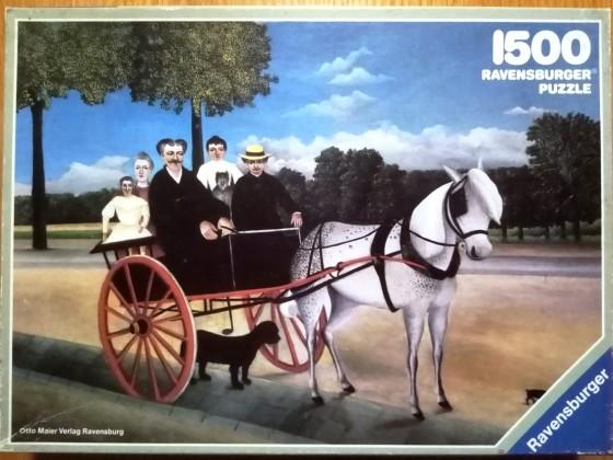 Rousseau: Das Wägelchen, 1500 Teile, Ravensburger