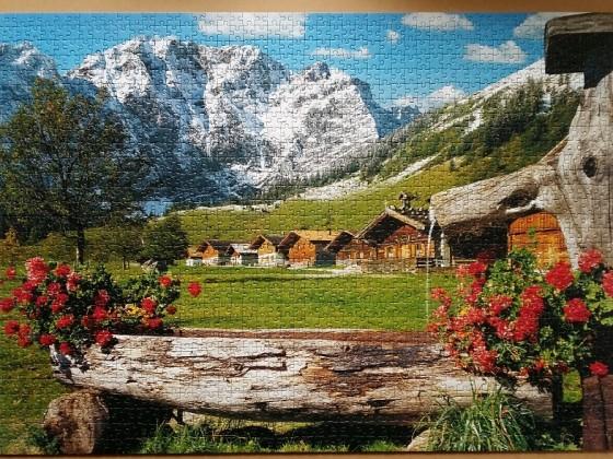 Am Karwendel -Massiv 1500 Pieces ( Schmidt Puzzle )