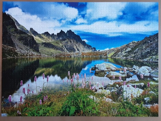 Starolesnianski Pond, Tatras, Slovakia 3000 Pieces ( Trefl Puzzle )