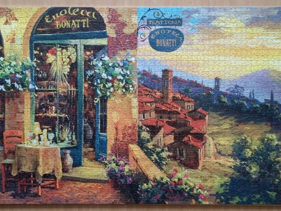 L'enoteca by Viktor Shvaiko 2000 Pieces ( Clementoni )
