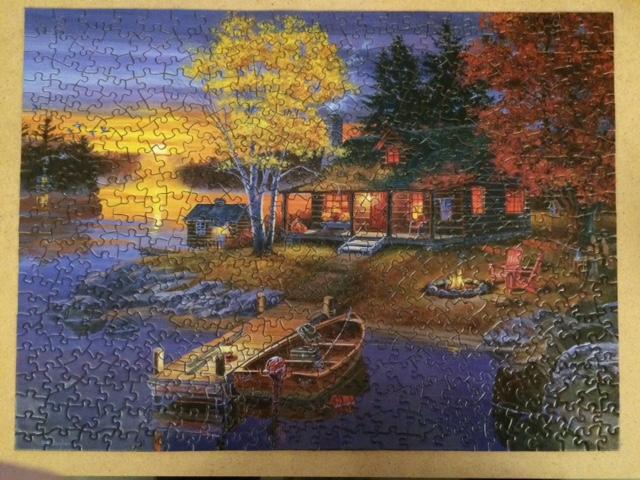 Peaceful Evening - Masterpieces 500 Teile