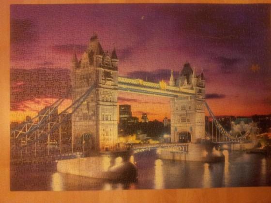 Educa - Tower Bridge London - 1000