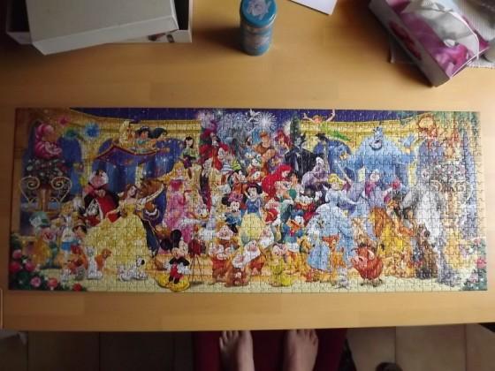 Disneys Gruppenfoto - Ravensburger - 1000 Teile Panorama