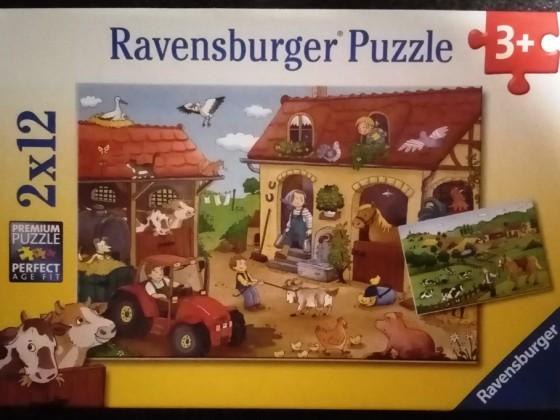Fleißig auf dem Bauernhof, Ravensburger, 2 x 12 Teile