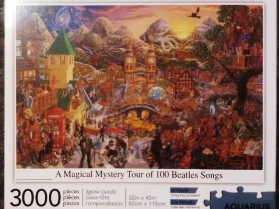 A Magical Mystery Tour of 100 Beatles Songs, Aquarius, 3000 Teile