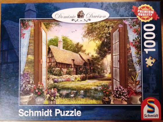 Blick auf das Cottage, Schmidt, 1000 Teile