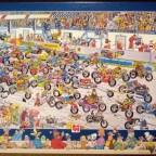 Motorradrennen, 1000 Teile, Jumbo