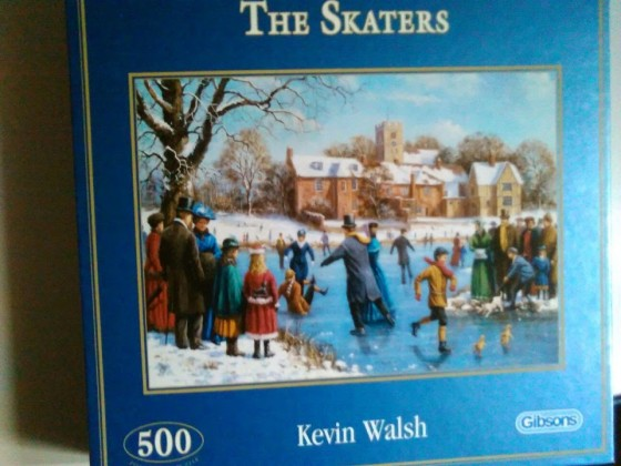 The Skaters von Kevin Walsh-Gibsons-500 Teile