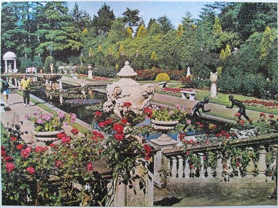 The Italian Garden, 3000 Teile, Arrow Games, Art.-Nr. 5327, gepuzzelt 2018