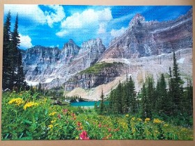 Glacier National Park , USA. 3000 pieces ( Dino Puzzle )