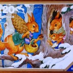Familie Eichhorn und Fuchs, 2 x 20 Teile, Ravensburger