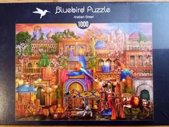 Arabian Street, Bluebird, 1000 Teile