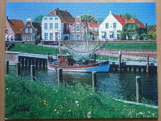 Greetsiel, Ostfriesland 2000 Pieces ( Ravensburger Puzzle )