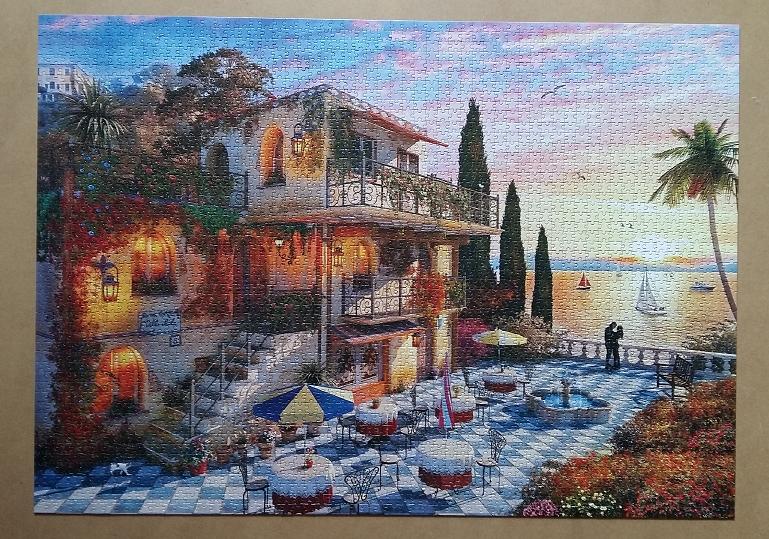Mediterranean Romance by Dominic Davison 3000 Pieces ( Anatolian )