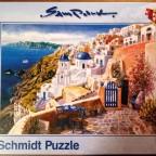 Blick von Santorin, Schmidt, 1000 Teile