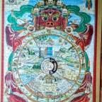 Tibetisches Lebensrad-Pomegranate-1000 Teile