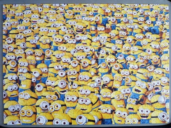 Impossible Puzzle Minions 1000 Teile