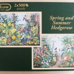 Spring and Summer Hedgerow (Anne Searle) von Falcon (Jumbo)