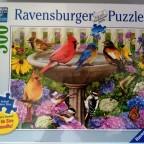Vögel an der Vogeltränke, 500 Teile, Ravensburger