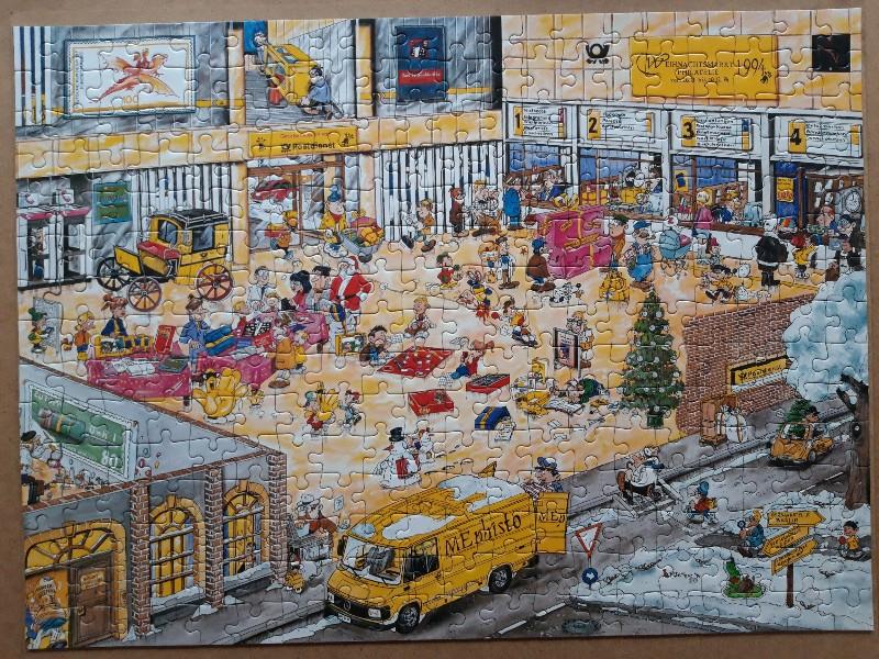 Weihnachtsmarkt Philaterie 1994