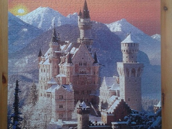 Neuschwanstein 1504 Pieces ( Clementoni )