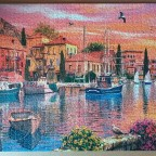 Mediterranean Harbor by Dominic Davison 1530 Pieces ( Ravensburger Puzzle )