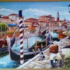 Venetian Canal in Italy-Castorland-1000 Teile