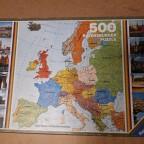 Europa 500 Teile