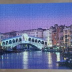 Rialto Bridge , Venice 1000 pieces ( Clementoni )