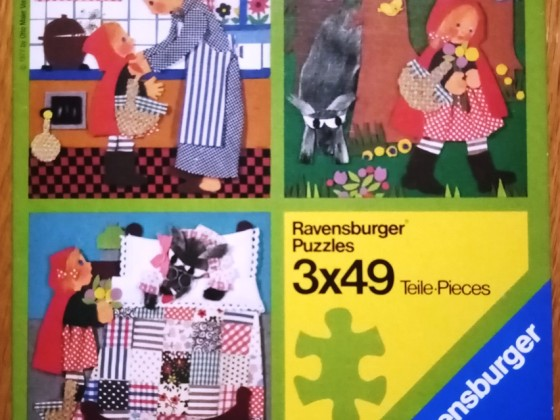 Rotkäppchen, Ravensburger, 3 x 49 Teile