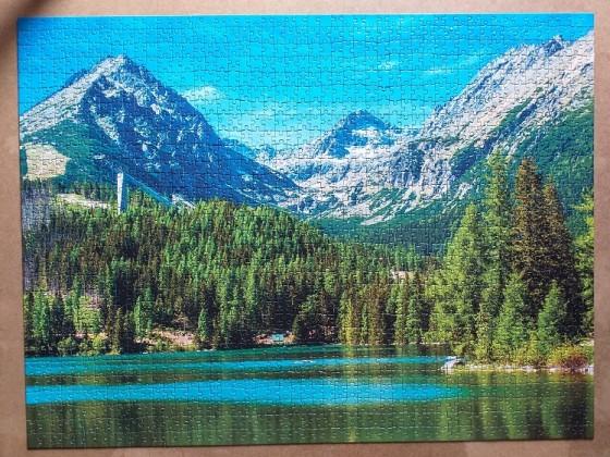 High Tatras , Slovakia 1500 Pieces ( Dino Puzzle )