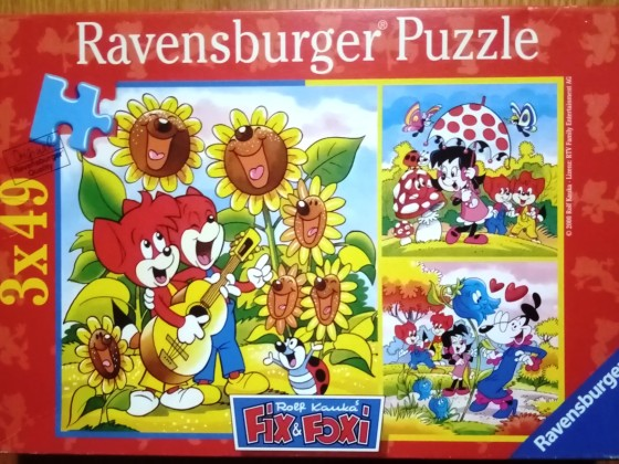Fix und Foxi, 3 x 49 Teile, Ravensburger
