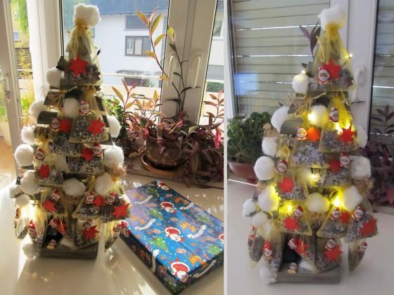 Adventskalender-Puzzle-Baum von Ghost an Silvie