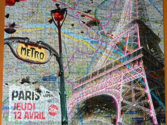 Adventskalender-Puzzle Impressions urbaines