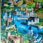 Schlösser und Burgen in Europa-Educa-1500 Teile