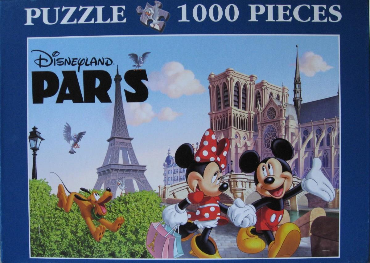 Disneyland Paris-2010, Clementoni, 1000 Teile
