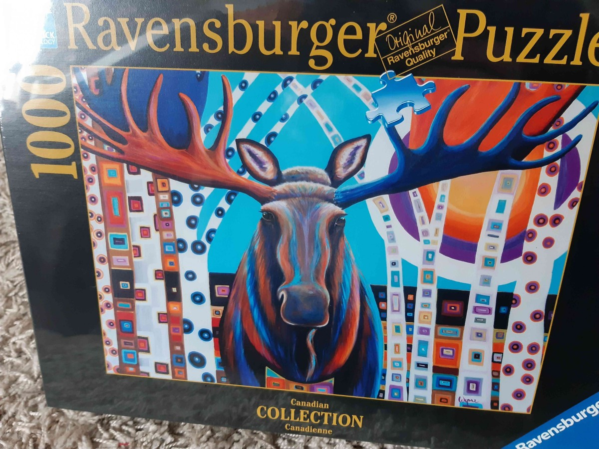 Ravensburger 1000 Teile, Canadian collection