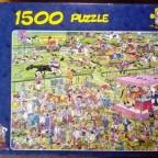 Pferderennen in Ascot, 1500 Teile, Jumbo