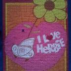 I love Herbie Ravensburger 1000 Teile