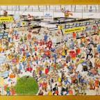 Jan van Haasteren, Auf dem Flughafen - Jumbo 1000 Teile