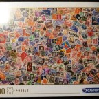 Stamps, Clementoni, 1000 Teile