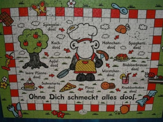 Sheepworld - Ohne Dich schmeckt alles doof - 1000 Teile
