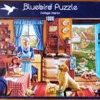Cottage Interior, 1000 Teile, Bluebird
