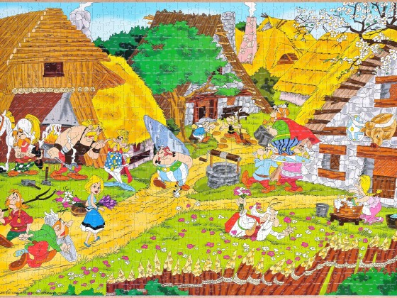 Castorland - Asterix der Gallier, 1000